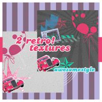 2 retro textures by awesomestyle
