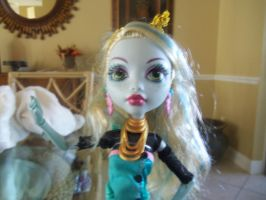 my doll lagoona blue from MH by Sarahthekiller17