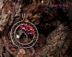 Pessimus' Pendant by SerenityWireDesigns
