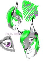 Lime Ricky Lynx by Sharpe19
