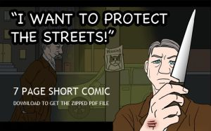 'I Want to Protect the Streets' (COMIC) by alicelights