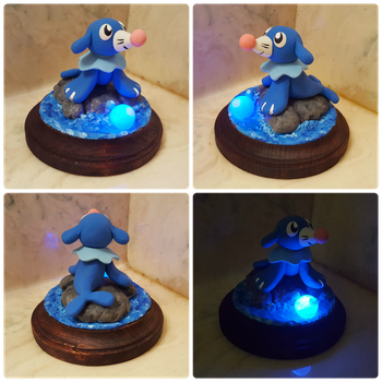 Popplio Light Up Sculpture by Kyreon