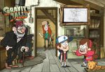 gravity falls postcard by alagatery