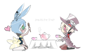 Contest Entry: Tea Time by StickFigureQueen