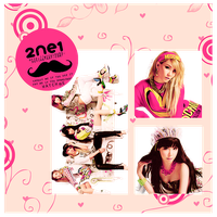 2ne1 - png pack (render) by michiru92
