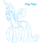 King Pupa - Colt Queen Chrysalis by vomitcunt