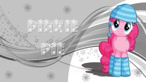 Wallpaper Christmas Pinkie Pie by Barrfind