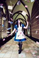 Alice Madness Returns : Alice Liddel, Its raining by YaraiyaCC