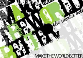 make the world better by fiveless