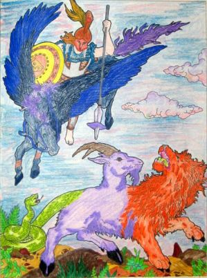 Myths 3:Perseus Vs Chimera