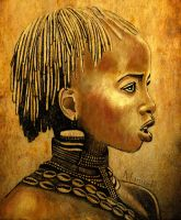 African Girl 4 by dezz1977