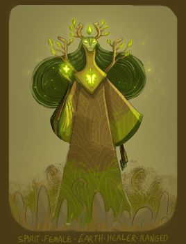 DH final roll - forest healer spirit by shoze