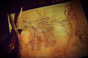 Map of Mirkwood by The-girl-in-Mirkwood