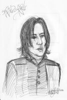 Alan's Snape by Mistical1