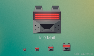 K-9 Mail Icon Free - All sizes by ShesaCai