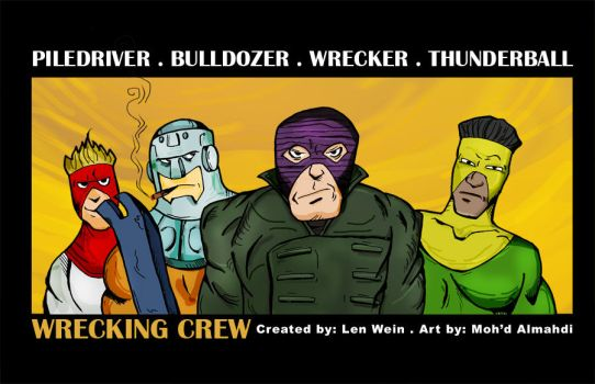 Wrecking Crew by mohdcartoon