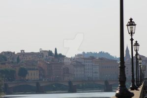 River, Florence, Italy by justdanielle