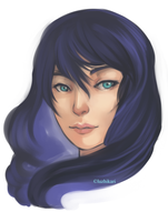 30 min headshot speed paint by luzhikari