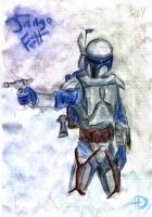 Jango Fett by Despairisi