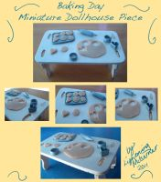 Dollhouse Baking Table Piece by LightningMcTurner