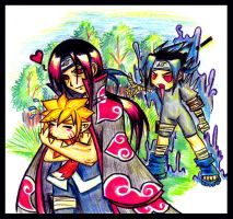 Itachi Gets the Prize by ahou