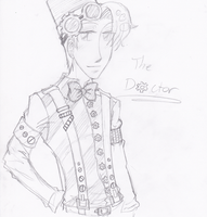 Steampunk 11th Doctor by spock-sickle