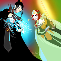 The Duel by Kyoshi-Fan