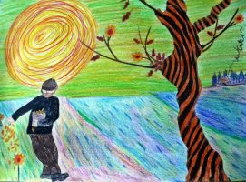Van Kates The Sower for the yellow fellowship by cactusmumkate