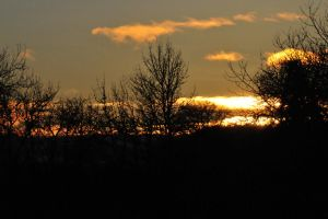 Sunset Behind the store 2 by RayMackenzie
