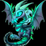 Winter Wyvern Chibi by WingedWilly