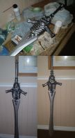 Devil May Cry- Rebellion Sword by chipface-zero