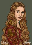 Cersei - Game of Thrones by bratchny