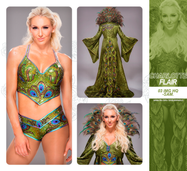 Photopack #167 - Charlotte Flair. by TheNightingale01