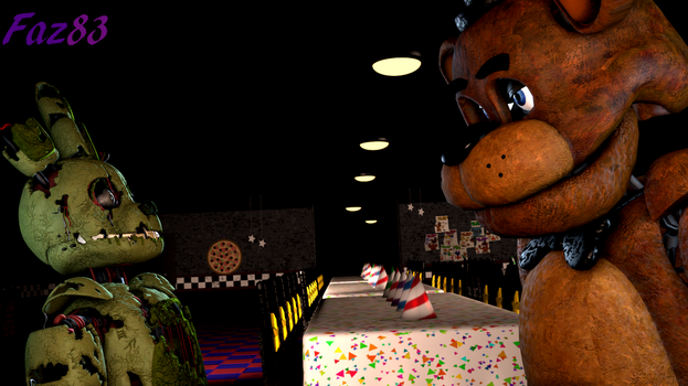 (SFM/FNAF) Title in the video by Fazband83