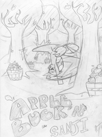 Apple Buck'n Like Sanji by LoosePopcorn