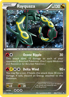 TheAlphaRanger Fake Cards 384/718: Rayquaza by TheAlphaRanger