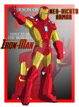 Cam's MAU Iron Man (Neo-Dickto Armor) by TheScarletMercenary