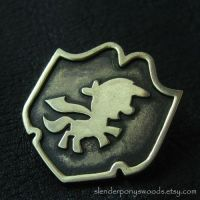 Bronze Cutie Mark Crusaders brooch by Sulislaw