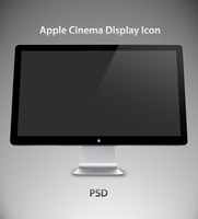 Apple Cinema Display 27 .PSD by jakeroot