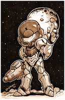 Metroid: In the Dark Print for $10 by DerekLaufman