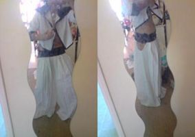 Costume Grimmjow in progress by Mikux3Cosplay