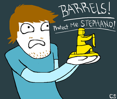 PewdiePie and Stephano by caseymakara
