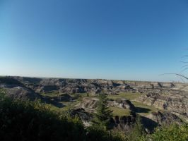Drumheller view point by zody-wolf