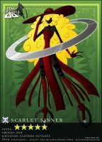 Shadow Hit: Scarlet Sinner by Persona-DA