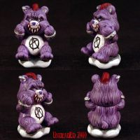 Killer Care Bears Punk Bear by Undead-Art