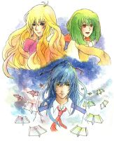 macross frontier by ManasChan