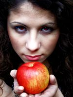 Take, this apple is for you by SkullDaggerYPleasanT