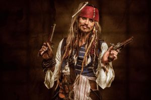 CAPTAIN JACK SPARROW by CalvinHollywood