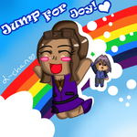 Prize: Trainer- Jump for Joy by Warped-Dragonfly