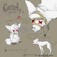 Cursed's reference sheet. by MadMallow
